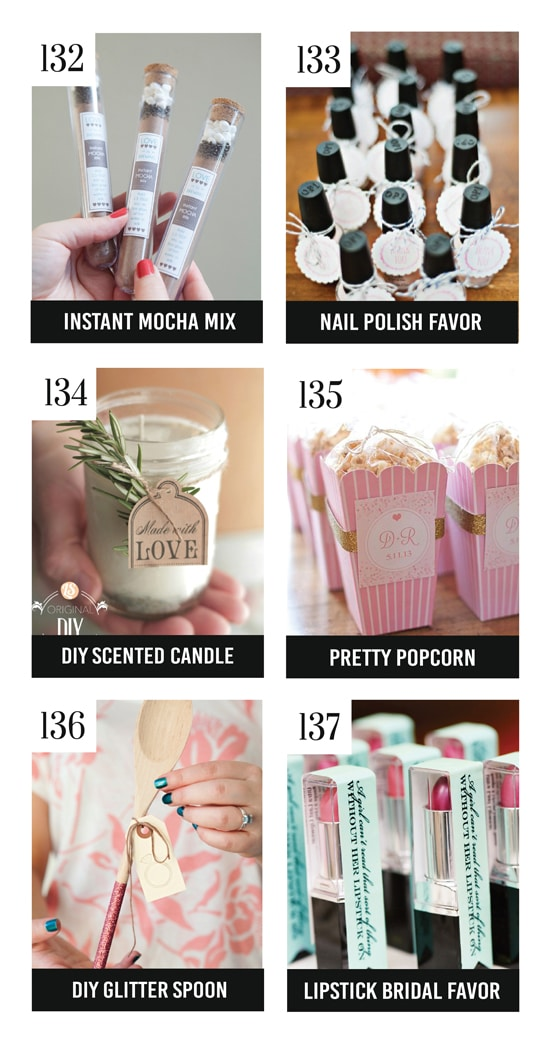 Adorable Bridal Shower Favors
