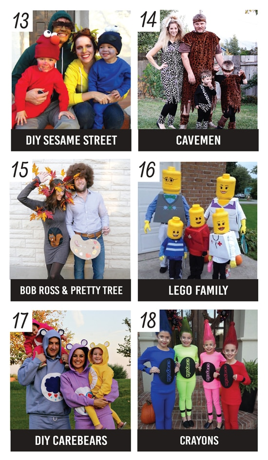 Adorable DIY Family Costume Ideas