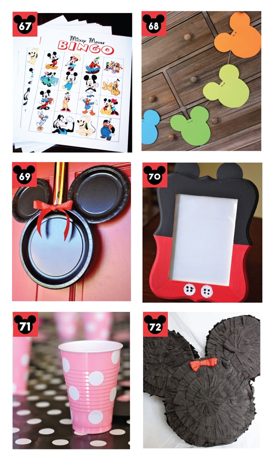 Adorable Mickey and Minnie Disney Party Ideas