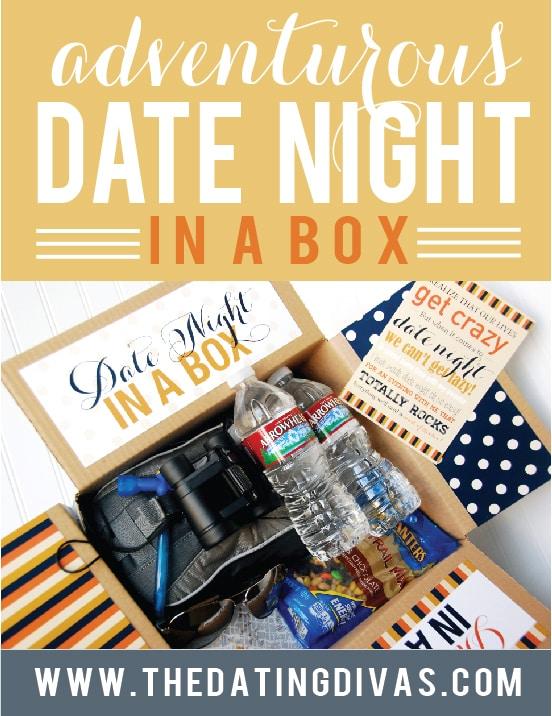 Adventurous Date Night in a Box ideas