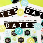 All 3 Date Night Bingo Card - Slider