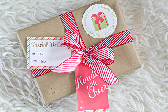 All I Want for Christmas is (time with) YOU!  Cute gift idea!  And all you have to do is print.