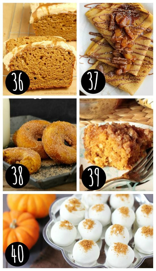Fall Desserts with Fall Recipes and Ideas