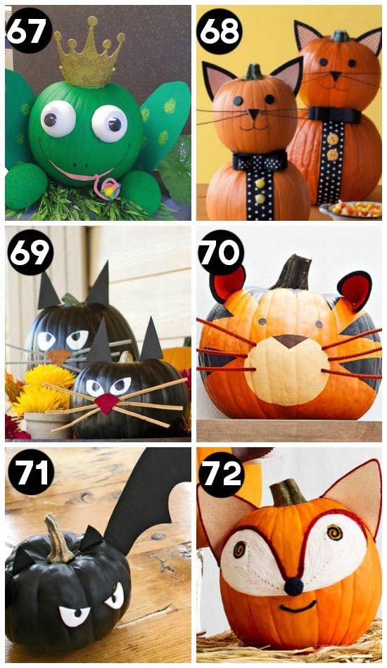 Animal Pumpkin Carving Ideas