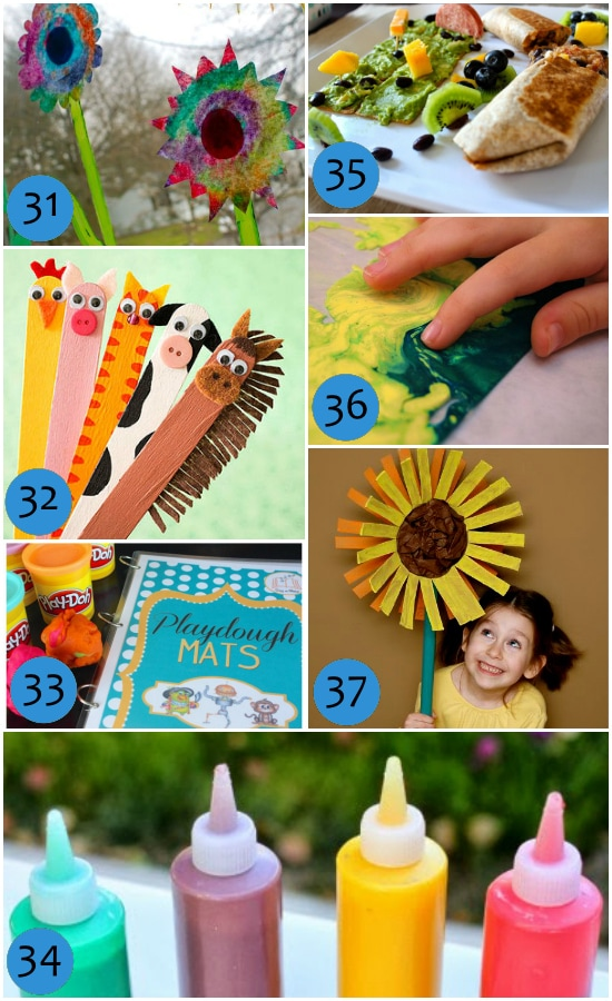 Indoor Activities for Arts and Crafts