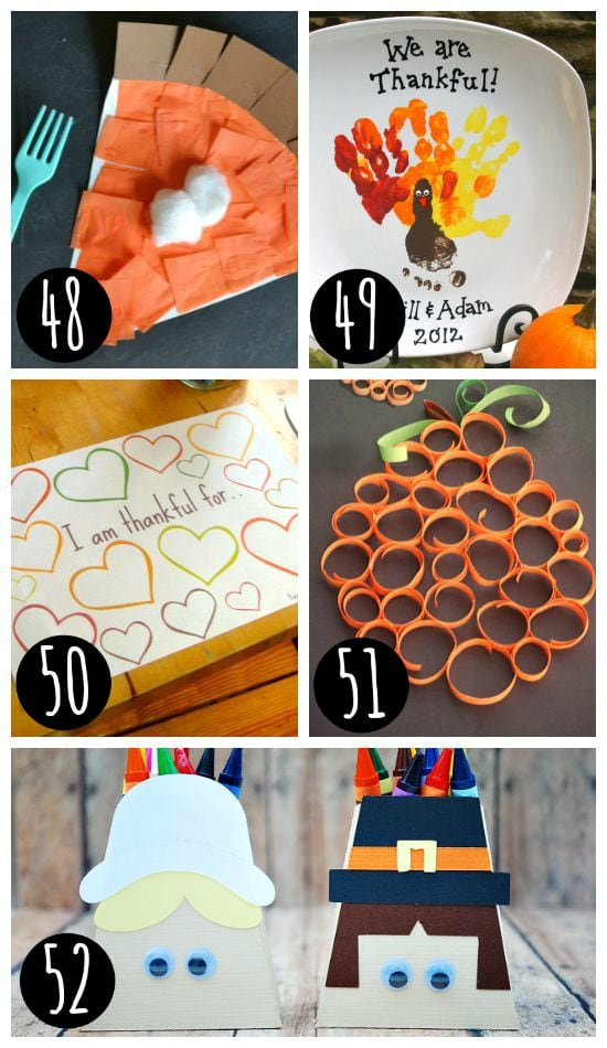 Fun Thanksgiving craft ideas!