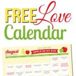 August Romance Calendar-Thumbnail
