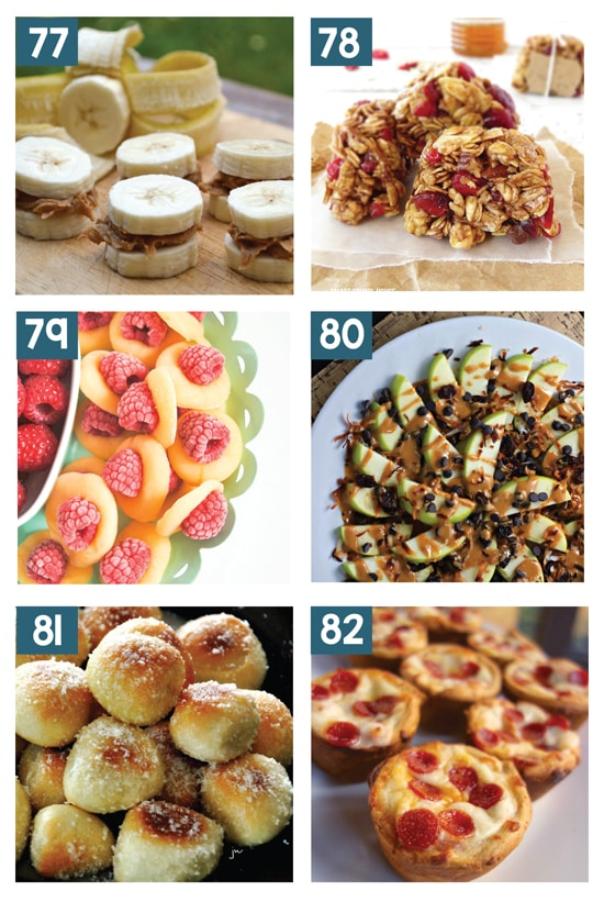 Awesome After School Snack Ideas for Kids