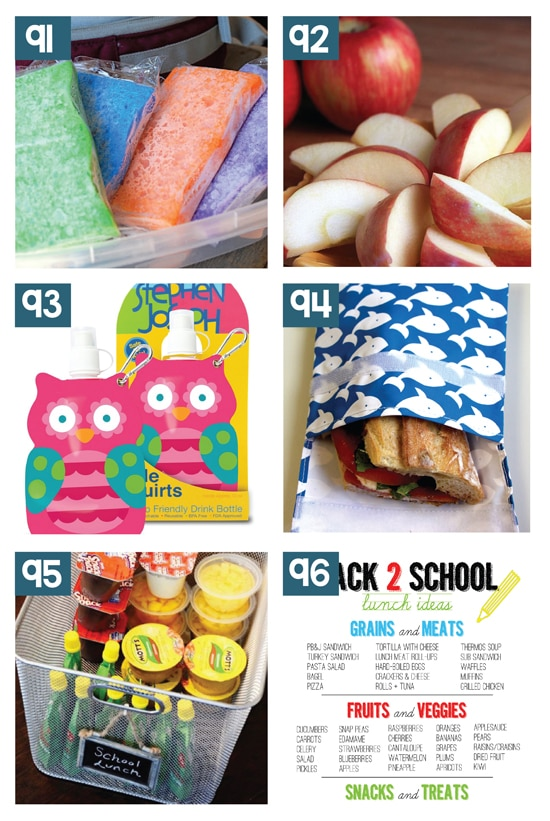 Awesome School Lunchbox Hack Ideas