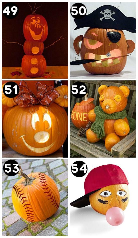 150 Pumpkin Decorating Ideas Fun Pumpkin Designs For