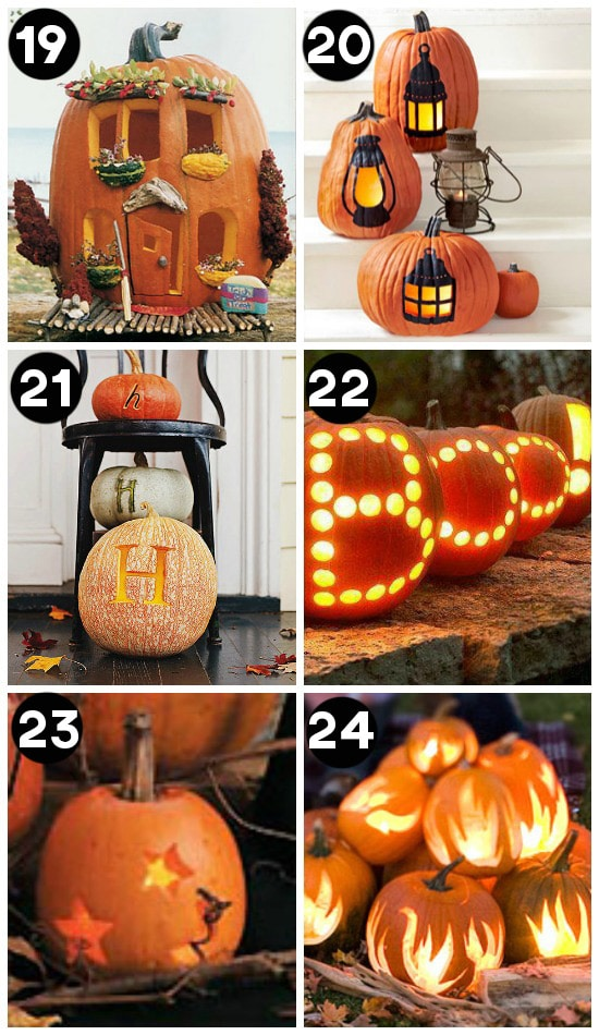 BEST Pumpkin Carving Ideas