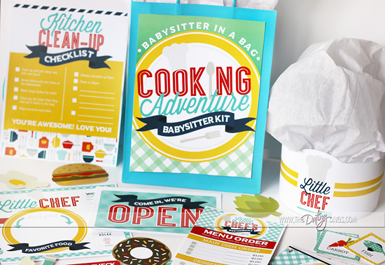 Cooking With Kids Printable Pack