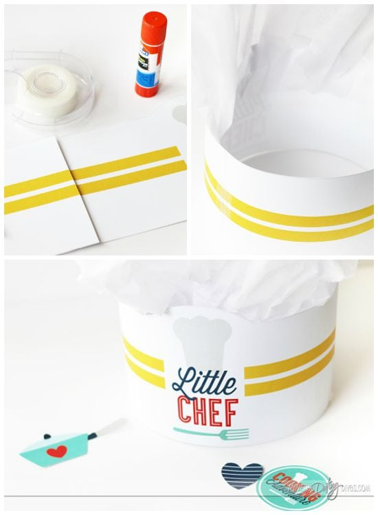 Babysitter Activities DIY Chef Hat