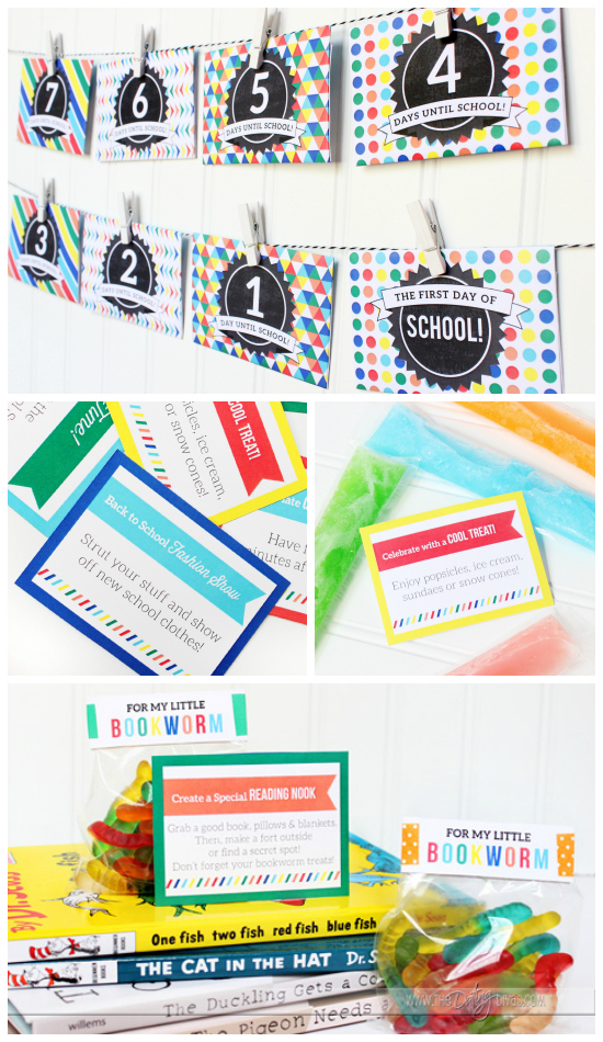 Back to School Ideas Countdown