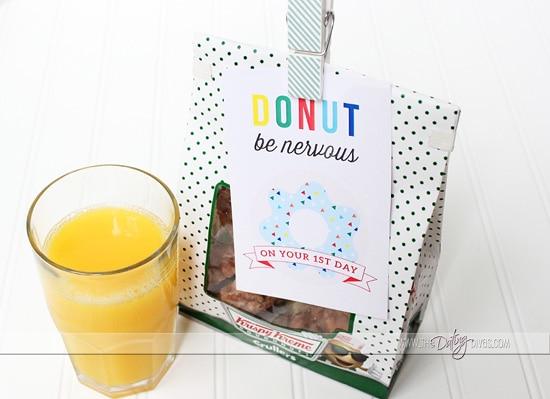 Back to School Ideas Breakfast