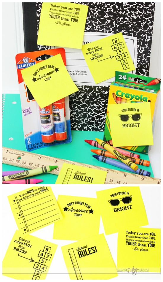 Back to School Ideas Notes