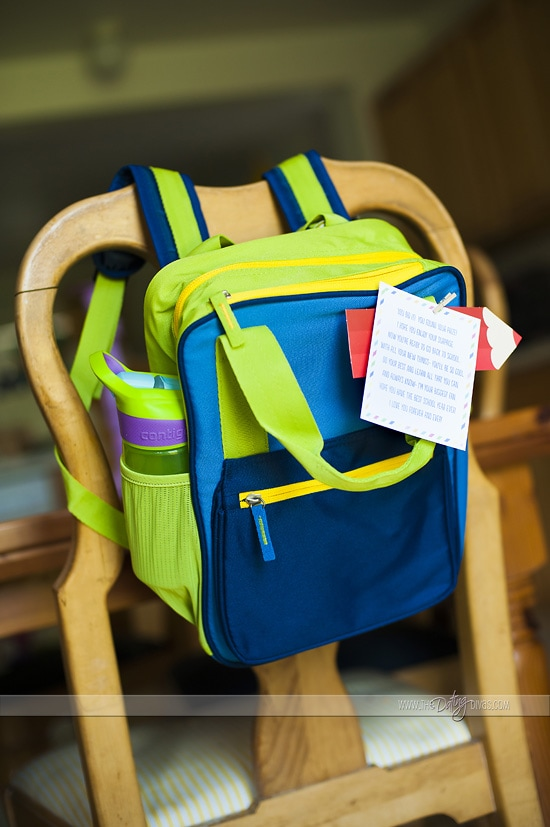 Back to School Surprise Gift Idea