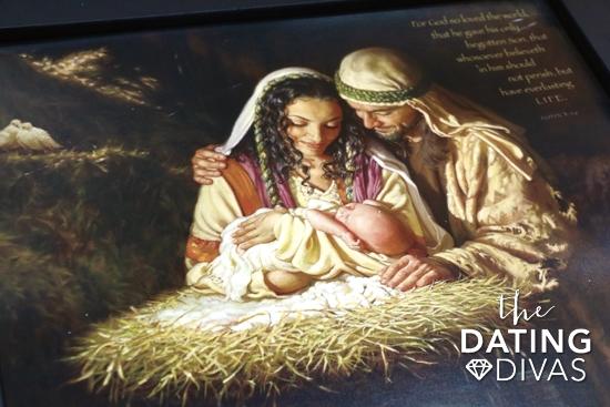 Beautiful Nativity Wall Print