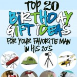Birthday Gifts for Him in His 20s
