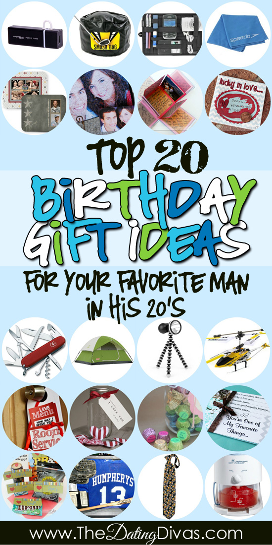 TONS Of Birthday Gifts For Him Becca BirthdayGiftsForHim20s PinterestPic
