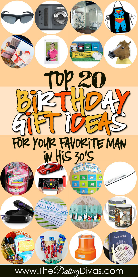 Birthday Gifts for Him in His 30s - The Dating Divas