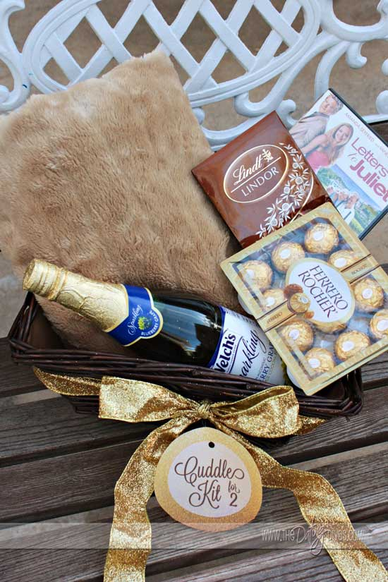 Wedding Gift Basket For Him : So go find a cute little basket and fill ?er up! Here are some ...