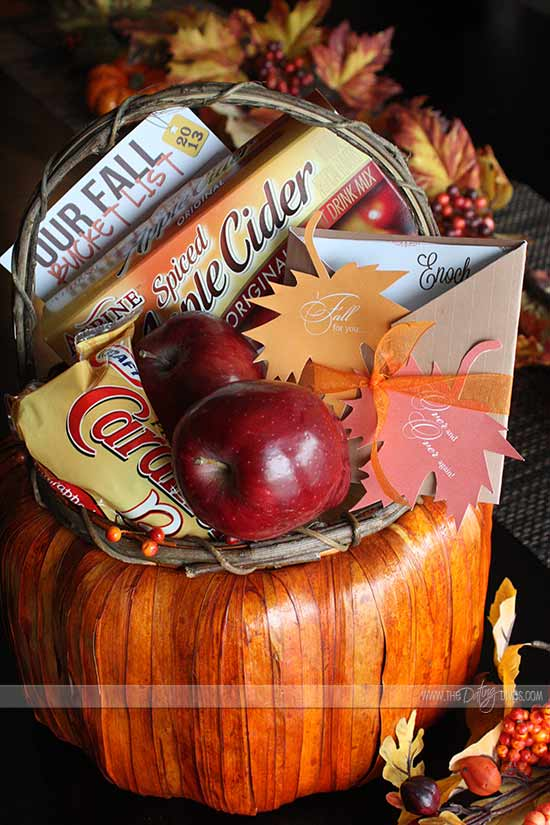 I fall for your gift basket