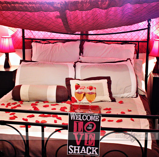 Love Shack Sexy Bedroom Decor