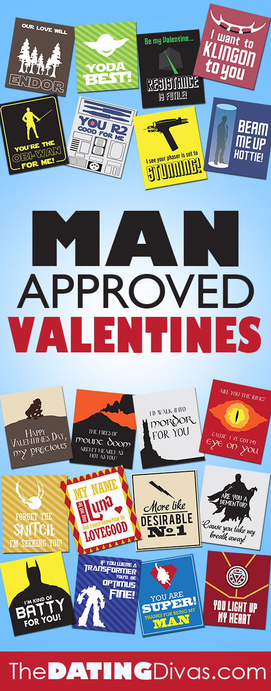 The dating divas man approved valentines