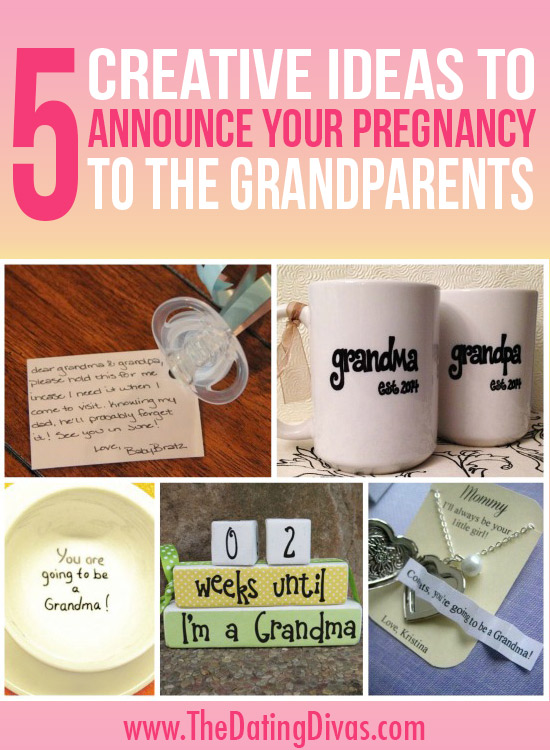 pregnancy annoucments with candy | just b.CAUSE