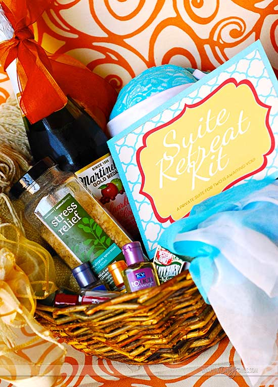Suite Retreat Gift Basket