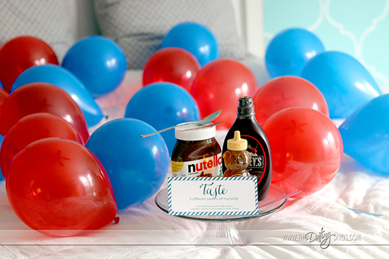 Bedroom Birthday Party Game