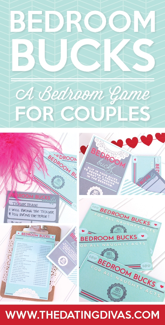 Bedroom Bucks Game For Couples