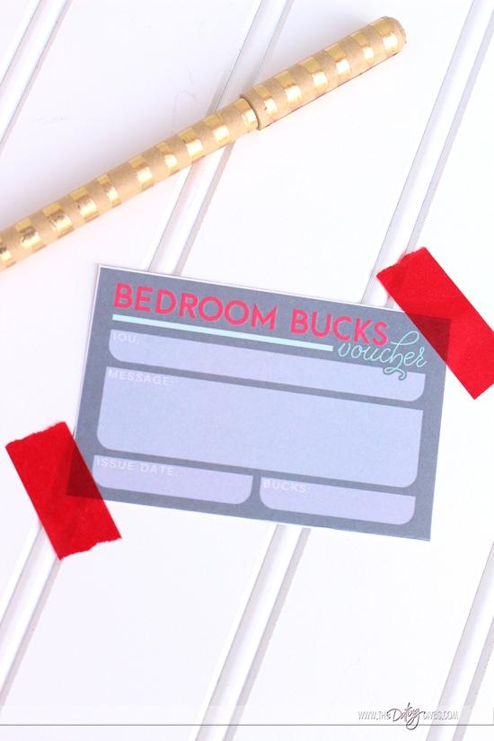 Bedroom Bucks Vouchers