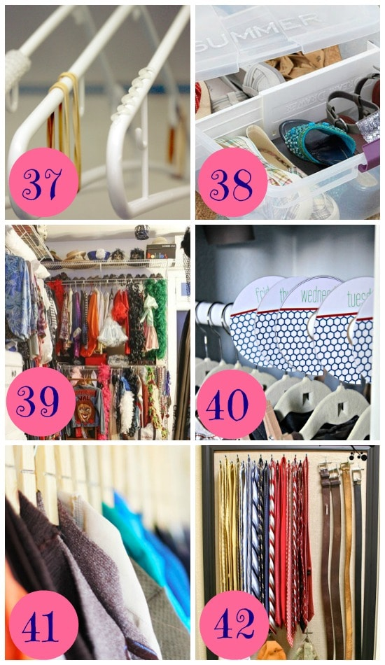 12 Ways to Organize your Bedroom