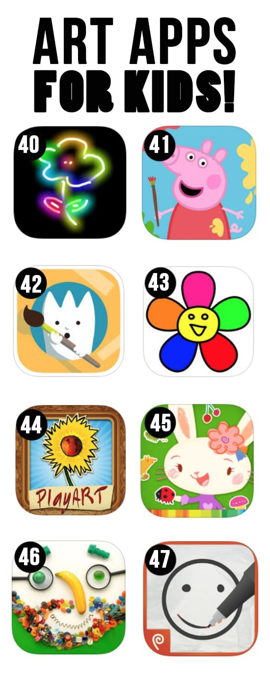 Best Art Apps for Kids