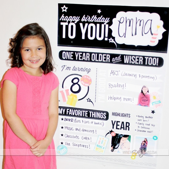 Best Birthday Ideas Personalized Poster