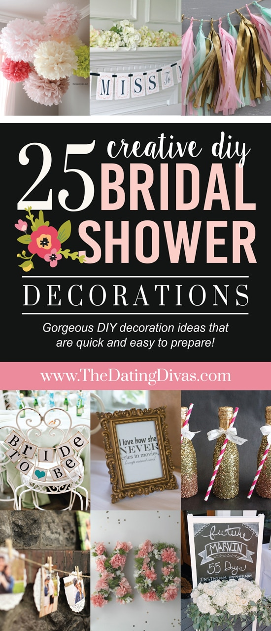 80ba81fd8ae Over 100 Bridal Shower Ideas - from The Dating Divas