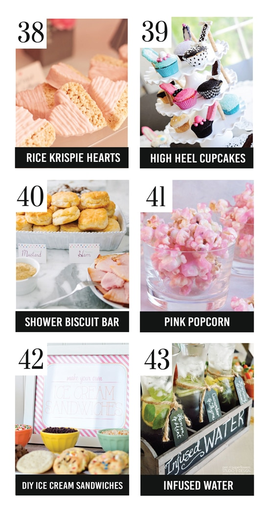 The Best Bridal Shower Food Ideas On The Block