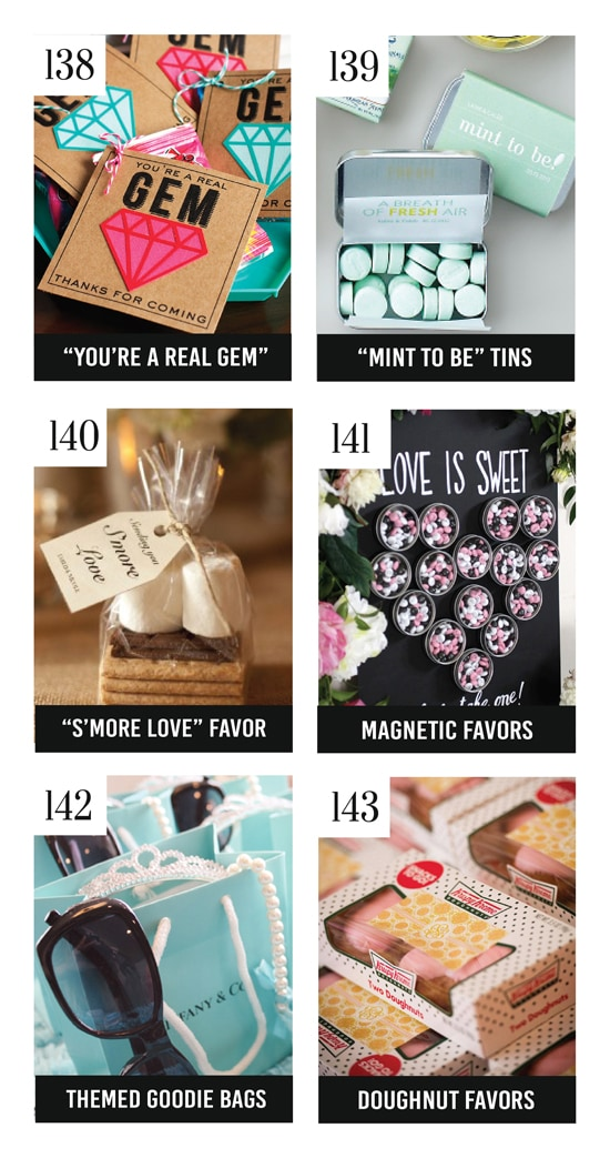 25 of the Best Bridal Shower Party Favors