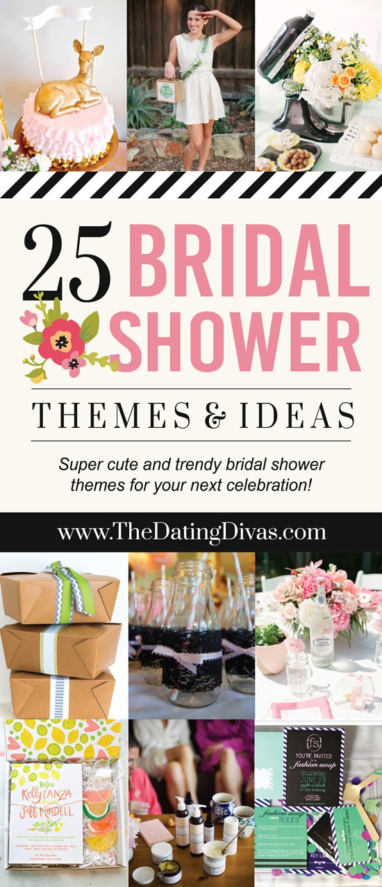25 of the best bridal shower themes