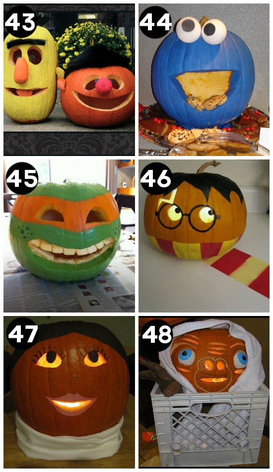 Best Carved Pumpkins EVER