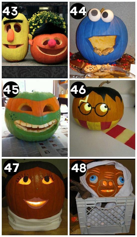 Best Carved Pumpkins EVER
