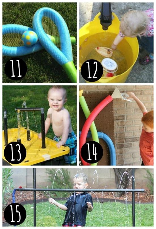 Summer water play idea.