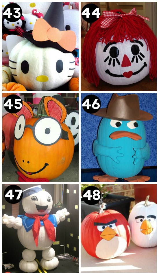 Best Decorated Pumpkins EVER