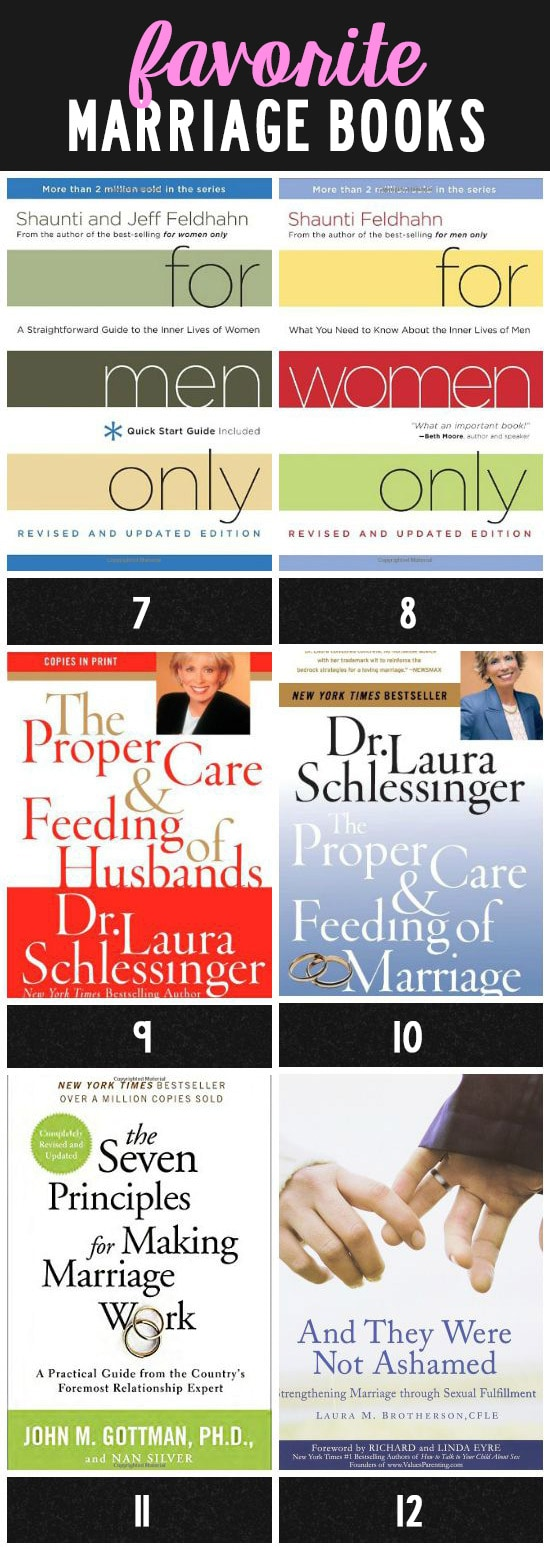 Favorite Marriage Books