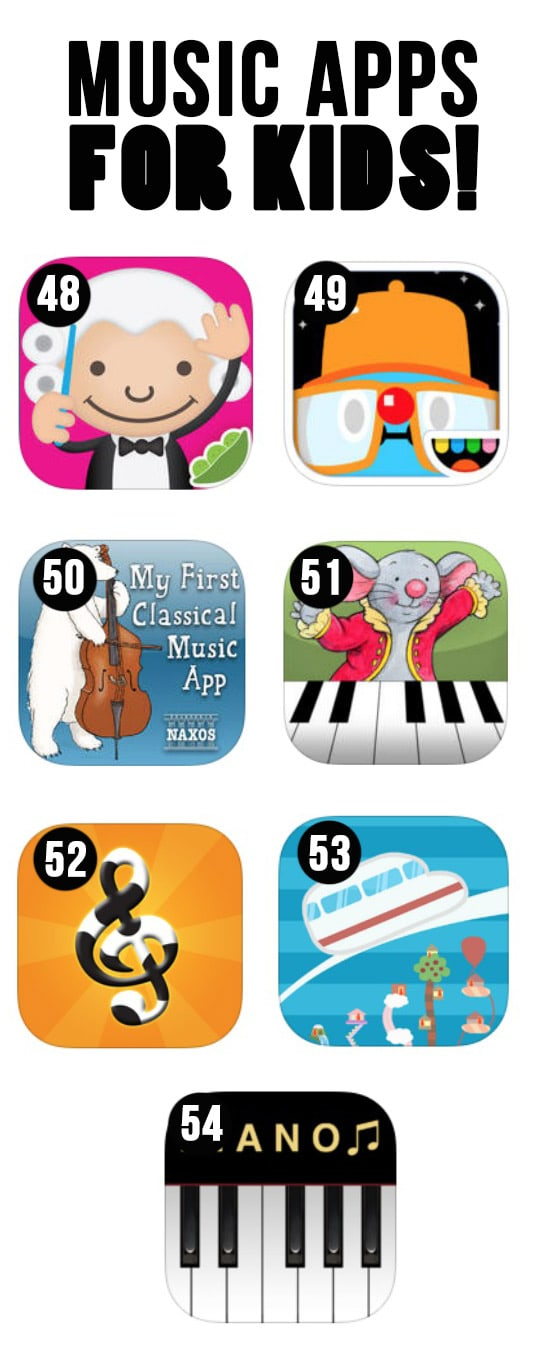 Best Music Apps for Kids