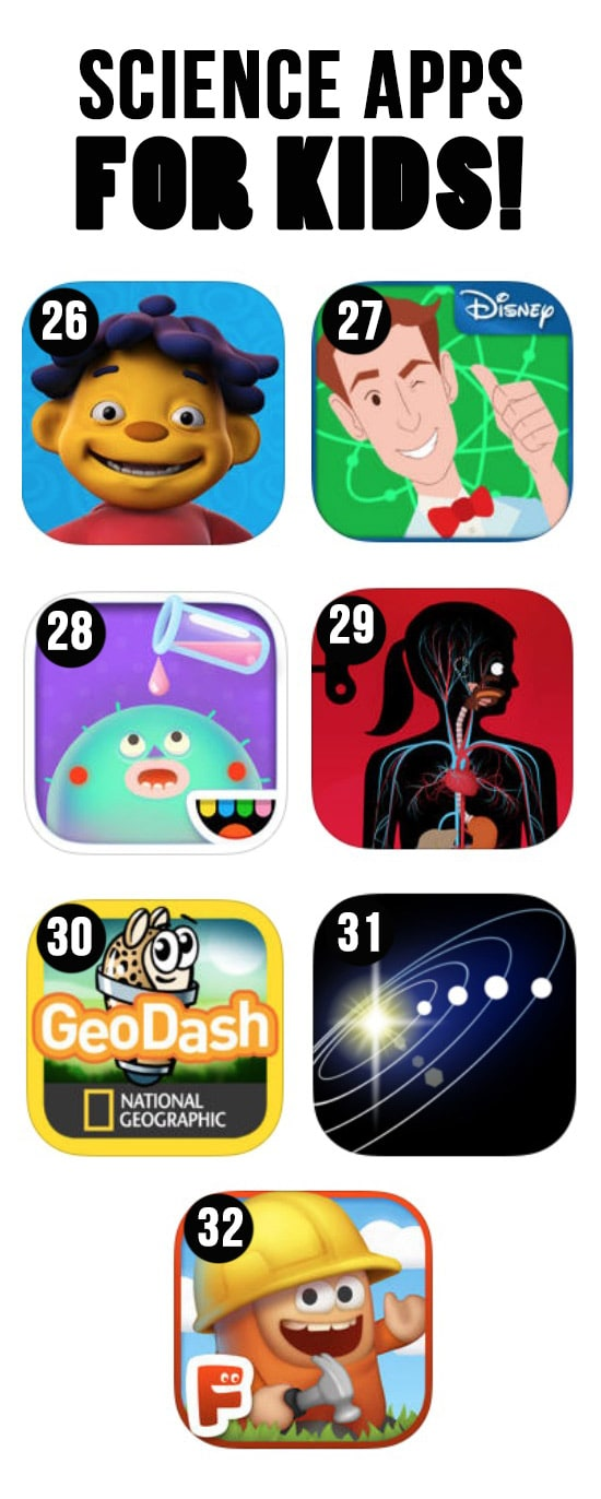 Best Science Apps for Kids