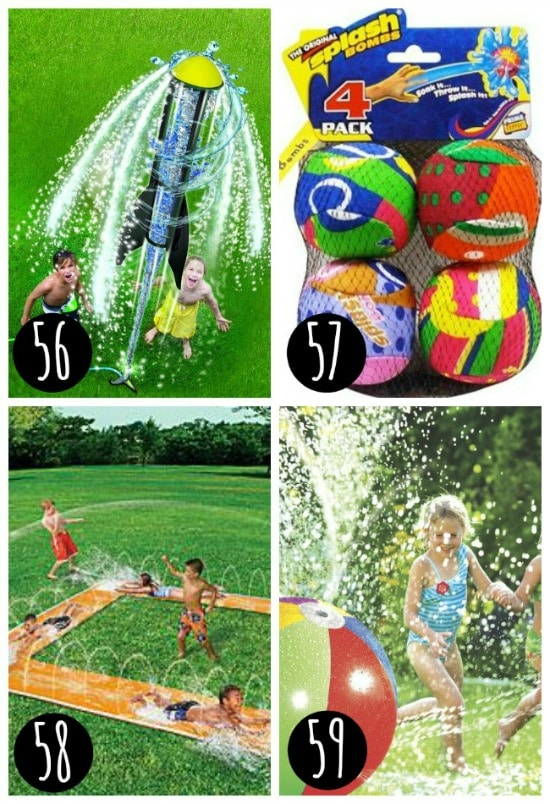 Water toys to purchase today!
