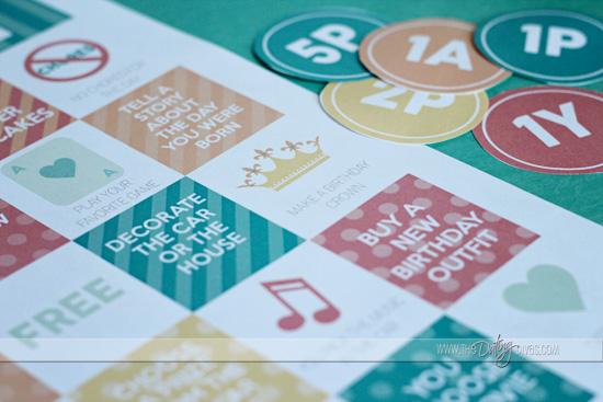 Bingo Cards for Birthday